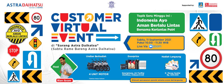 Astra Daihatsu Customer Virtual Event